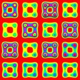 Het schuimpatroon van het stuk speelgoed vector illustratie