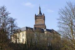 Het schwanenburgkasteel kleve Duitsland Stock Afbeeldingen