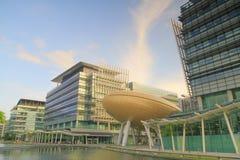 Het Science park is een science park in HK 2010 royalty-vrije stock foto