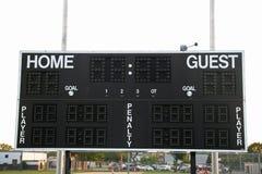Het Scorebord van sporten Stock Foto