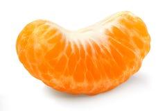 Het segment van de mandarijn Stock Afbeelding