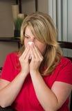 Het seizoen van de koude en van de griep stock fotografie