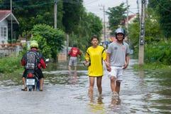 Het seizoen van de moesson in Thailand royalty-vrije stock afbeelding