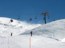 Het seizoen van de ski Stock Foto's