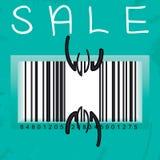 Het seizoen van de verkoop is open Royalty-vrije Stock Foto's