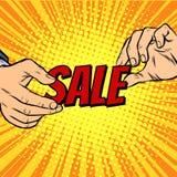 Het seizoen van de verkoopkorting Stock Afbeeldingen
