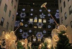 Het seizoen van Kerstmis in New York Royalty-vrije Stock Afbeeldingen