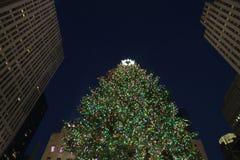 Het seizoen van Kerstmis in New York Stock Fotografie