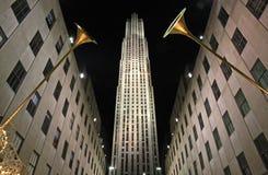 Het seizoen van Kerstmis in New York Royalty-vrije Stock Foto's