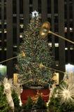 Het seizoen van Kerstmis in New York Royalty-vrije Stock Foto