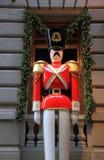 Het seizoen van Kerstmis in New York Stock Foto