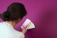 Het selecteren van kleur stock foto
