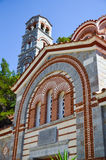 Het Selinariklooster wordt gevestigd in het schilderachtige Eiland Kreta Stock Fotografie