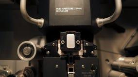 Het semi analogon van de Telecinemachine voor het uitgeven van filmkleur stock foto's