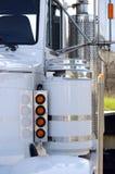 Het semi Detail van de Vrachtwagen stock fotografie