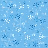 Het semless patroon van de winter stock illustratie