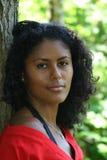 Het sensuele kijken Braziliaanse schoonheid Royalty-vrije Stock Afbeeldingen