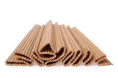Het servet van het bamboe Stock Afbeelding