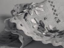 Het servet van het linnen Stock Fotografie