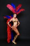 Het sexy danser stellen stock foto