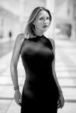 Het sexy Elegante Vrouw Stellen Royalty-vrije Stock Fotografie