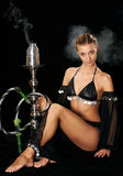 Het sexy meisje Royalty-vrije Stock Foto's