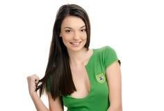 Het sexy meisje van Brazilië. Stock Foto's