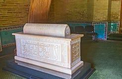 Het Shaihantaur-Mausoleumbinnenland Royalty-vrije Stock Afbeeldingen