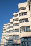 Het Shell Haus-gebouw van akagasag is een klassiek modernist architecturaal meesterwerk dat door Emil Fahrenkamp in 1932 wordt on royalty-vrije stock foto's