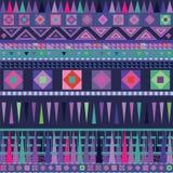 Het sier beweging veroorzakende blauwe patroon van de kleur Royalty-vrije Stock Fotografie