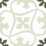 Het sier ronde naadloze patroon van Marokko Oriënteer traditioneel ornament Oosters motief stock illustratie
