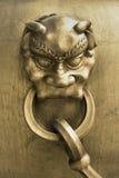 Het siercijfer van het brons Royalty-vrije Stock Foto's