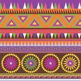 Het sierpatroon van de kleur Stock Foto's