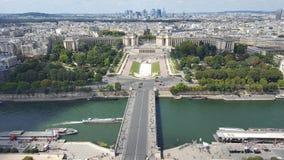 Het Sightseeing van Parijs Stock Fotografie