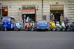 Het sightseeing van Rome stock afbeeldingen