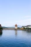 Het sightseeing van vlek in Luzern stock afbeelding