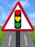 Het signaal van de liefde royalty-vrije illustratie