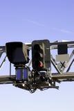 Het Signaal van de spoorweg Stock Foto