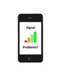 Het Signaal van de telefoon Stock Foto's