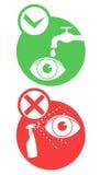 Het signaal van het pictogram stock illustratie