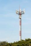 Het signaalpost van de celtelefoon Royalty-vrije Stock Foto