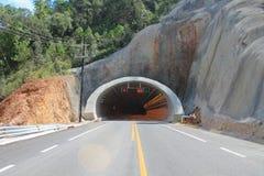 Het signaleren binnen de tunnel Royalty-vrije Stock Afbeeldingen