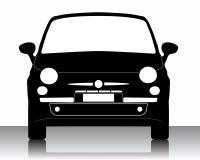 Het silhouet van de auto Royalty-vrije Stock Afbeeldingen