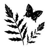 Het silhouet van de decoratie Royalty-vrije Stock Foto