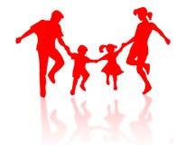 Familiesilhouet