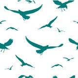 Het silhouet van de vogel Royalty-vrije Stock Afbeelding
