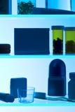 Het Silhouet van het Kabinet van de geneeskunde Stock Foto