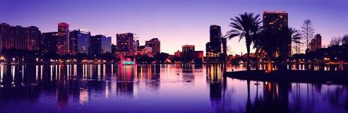 Het silhouet van Orlando Stock Afbeeldingen