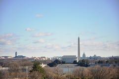 Het silhouet van Washington. Royalty-vrije Stock Foto's