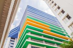 Het Sirirajziekenhuis, het grootste universitaire ziekenhuis in Thailand Het is openbare ruimte royalty-vrije stock fotografie